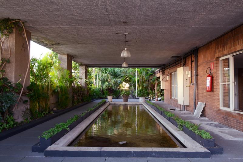 Jardim Walter Galera do Edifício Matarazzo e atual Prefeitura de São Paulo