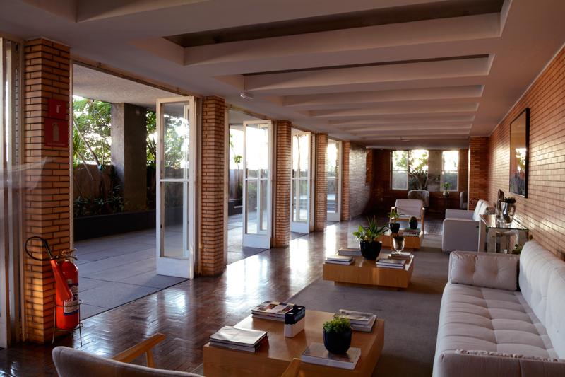 espaço do Jardim Walter Galera do Edifício Matarazzo e atual Prefeitura de São Paulo