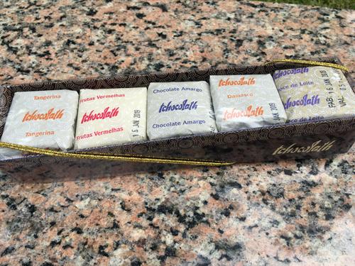pães de mel da Tchocolath