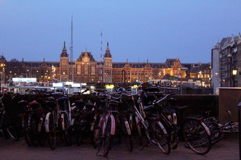 Amsterdam Centraal em Amsterdã na Holanda
