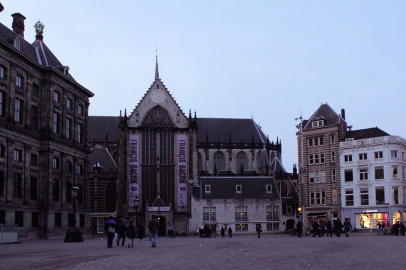 Koninklijk Paleis em Amsterdã na Holanda