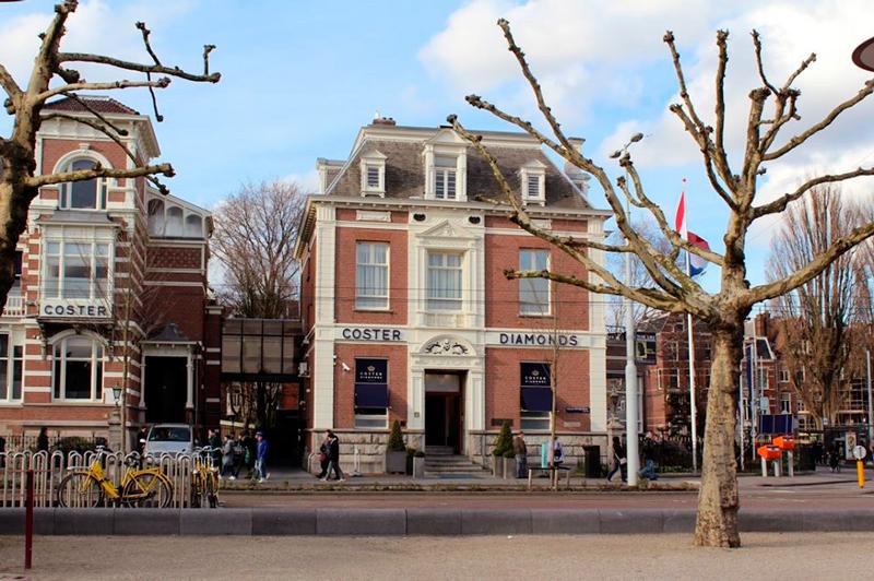 Coster Diamond em Amsterdã na Holanda