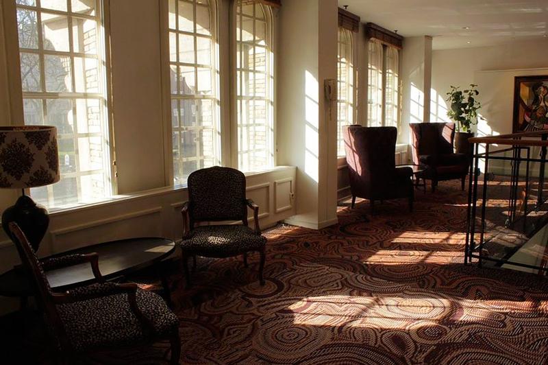 Interior do Americain Amsterdam Hotel em Amsterdã na Holanda