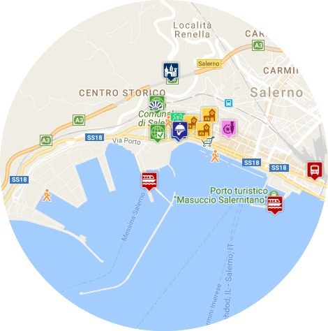 mapa salerno