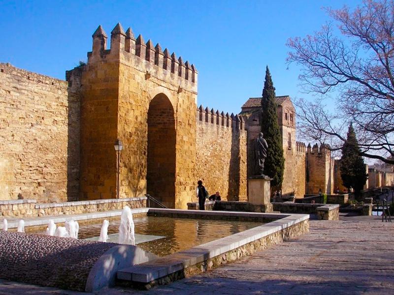 Detalhe da fachada dos muros de Cordoba