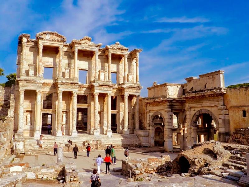Biblioteca em Éfeso