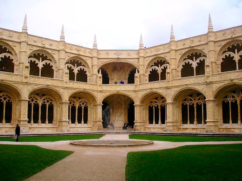 Detalhe do Mosteiro dos Jeronimos