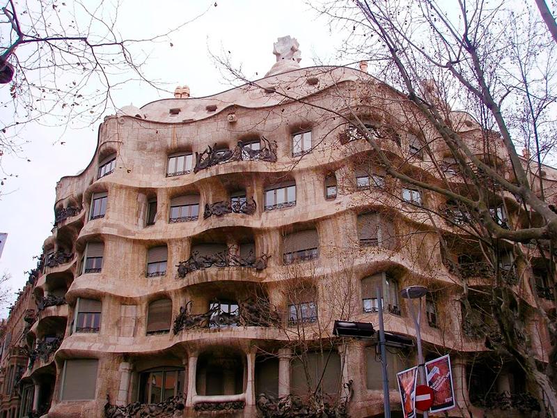 Casa Milà em Barcelona