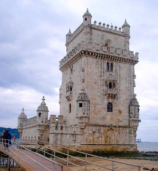 A Torre de Belém é parada obrigatória para turistas