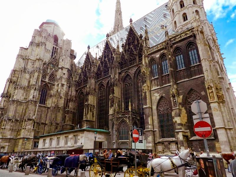 Detalhe da Stephansdom de Viena