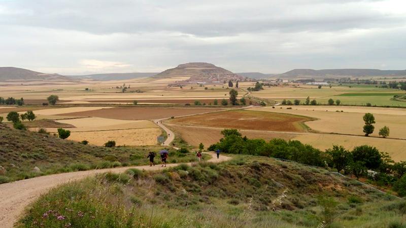Em Castrojeriz na Espanha