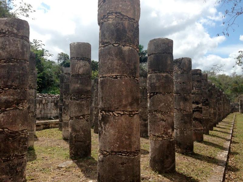 Mais detalhes de Chichén-Itzá no mexico