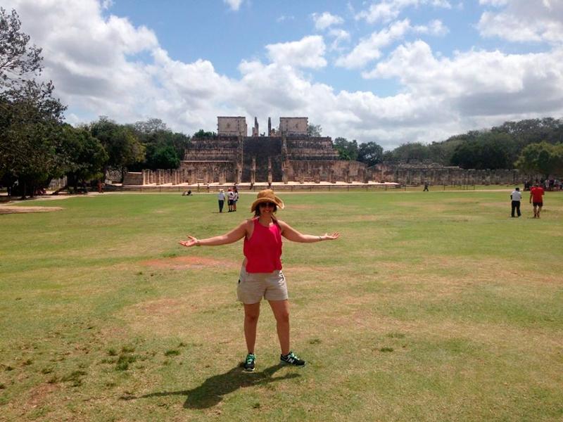 Em Chichén-Itzá no mexico