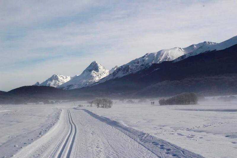 Esqui Nórdico em Ushuaia na Argentina