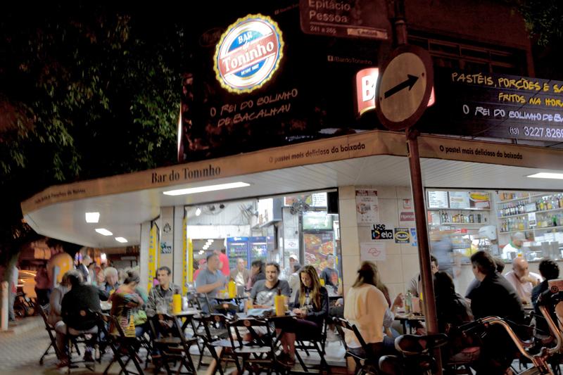 Bar do Toninho em Santos - São Paulo