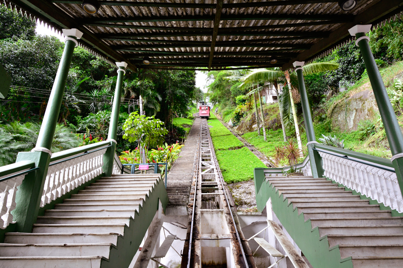 funicular do Montserrat em Santos