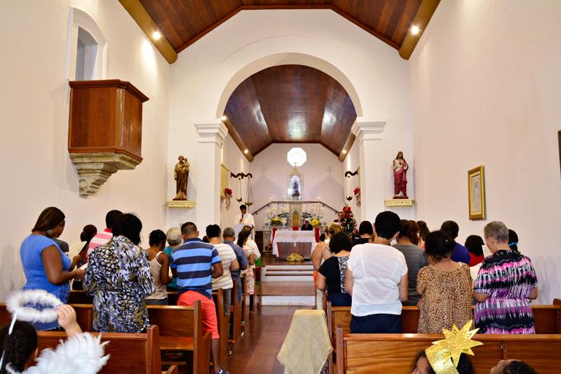 Capela Santuário de Nossa Senhora de Monte Serrat em Santos