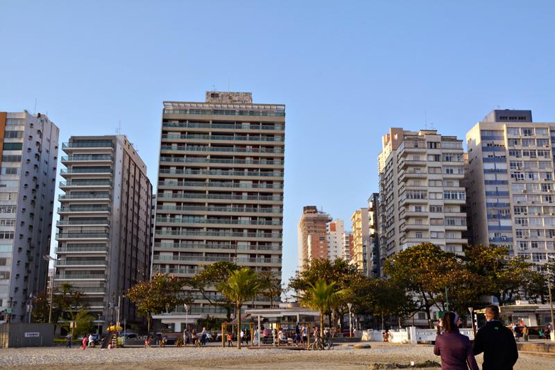 orla do Embaré em Santos