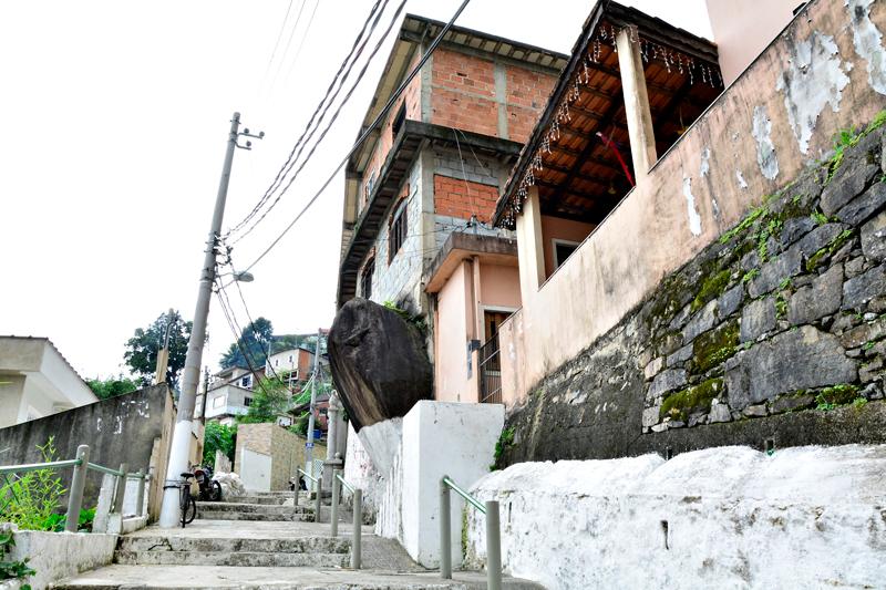 Via Sacra do Monte Serrat em Santos