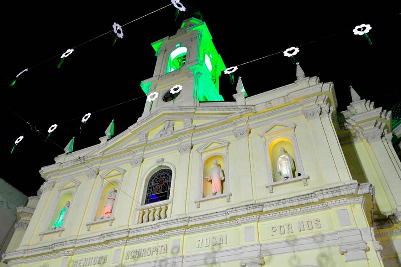 Paróquia Nossa Senhora Achiropita em dia de festa em sao paulo