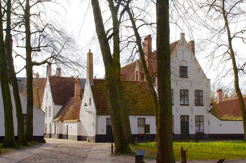 Flemish Béguinages Dicas de Viagem para Bruges do itinerário de viagem