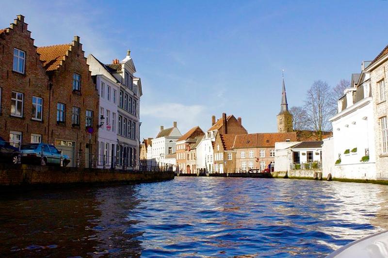 passeio pelos canais Dicas de Viagem para Bruges
