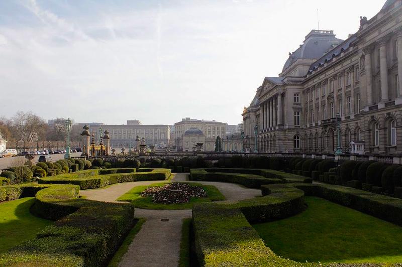 Palácio de Belas Artes de Bruxelas na Bélgica