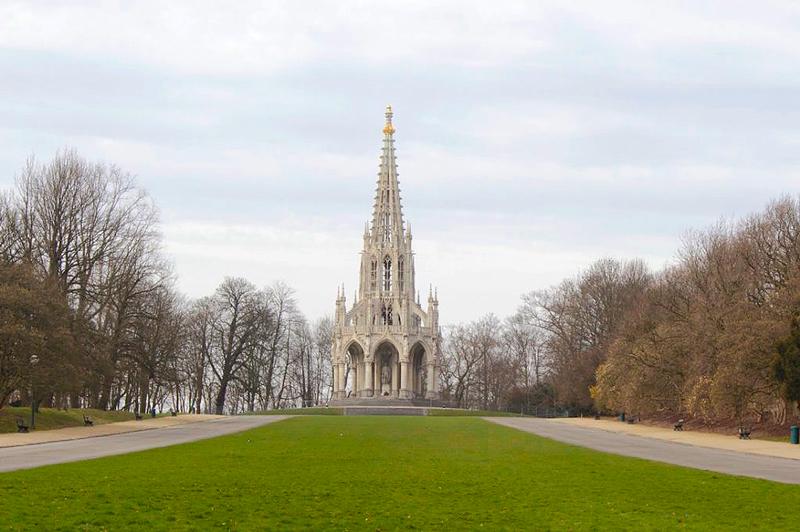 Monumento ao Rei Leopoldo em Bruxelas na Bélgica
