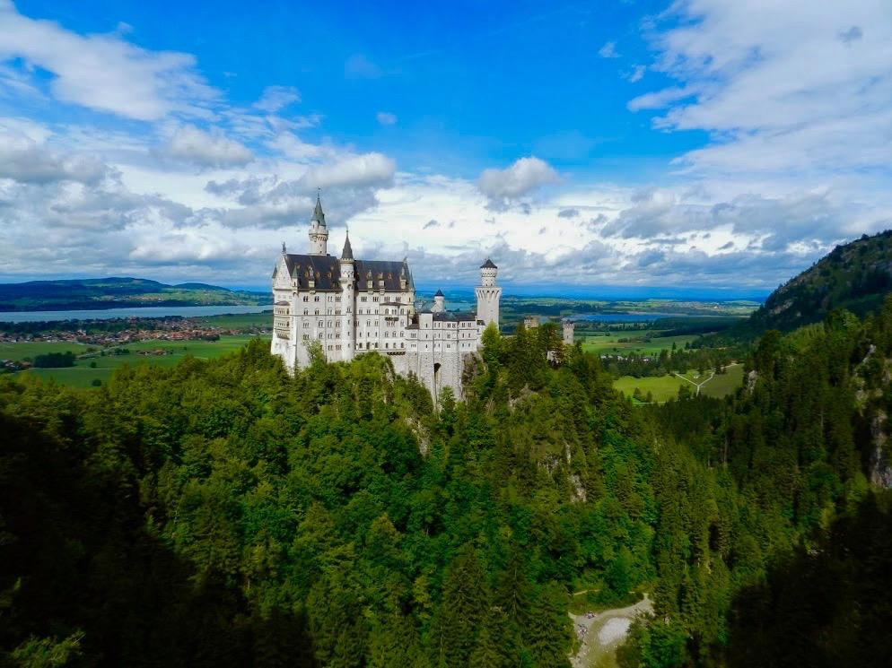 Castelo Neuschwanstein, Füssen, Alemanha