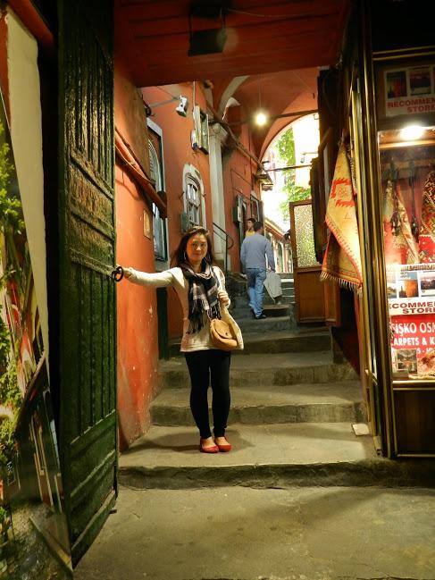 Eu no Grand Bazaar em Istanbul, Turquia, Maio de 2012.