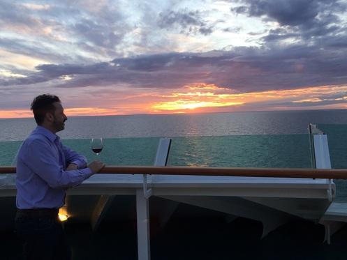 Ico Thomaz no Cruzeiro pelo Mar Báltico