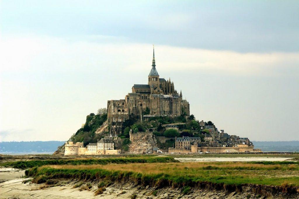 Le Mont Saint Michel, França