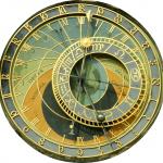 """""""Orloj"""" em Praga, República Tcheca"""