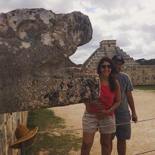 Roberta e seu marido Eduardo