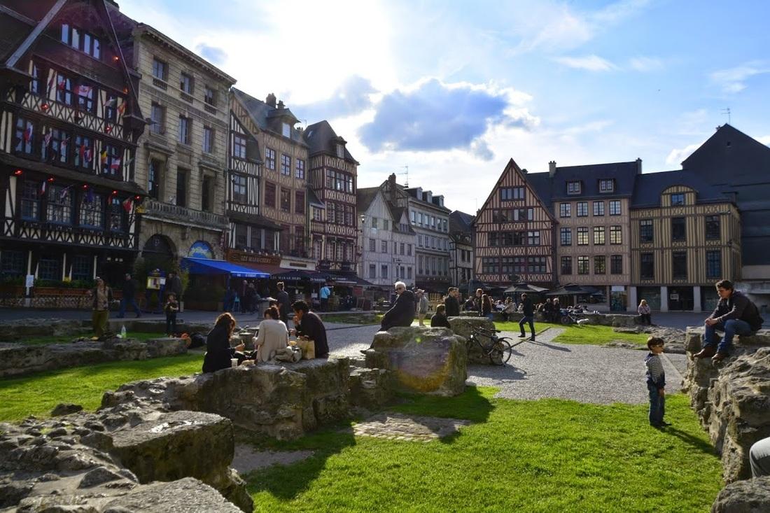 Centro histórico de Rouen