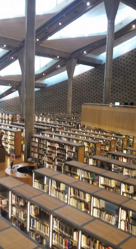 Biblioteca moderna de Alexandria