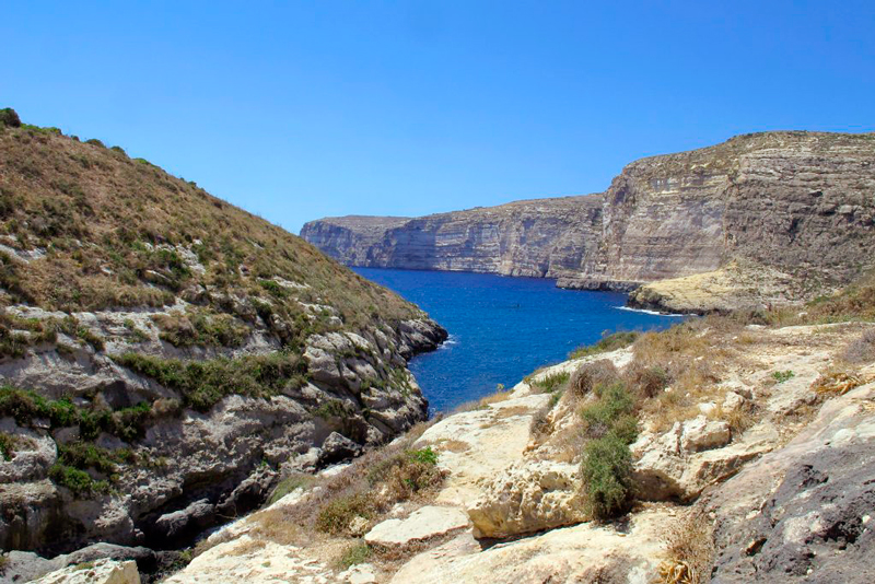 Xlendi em Malta