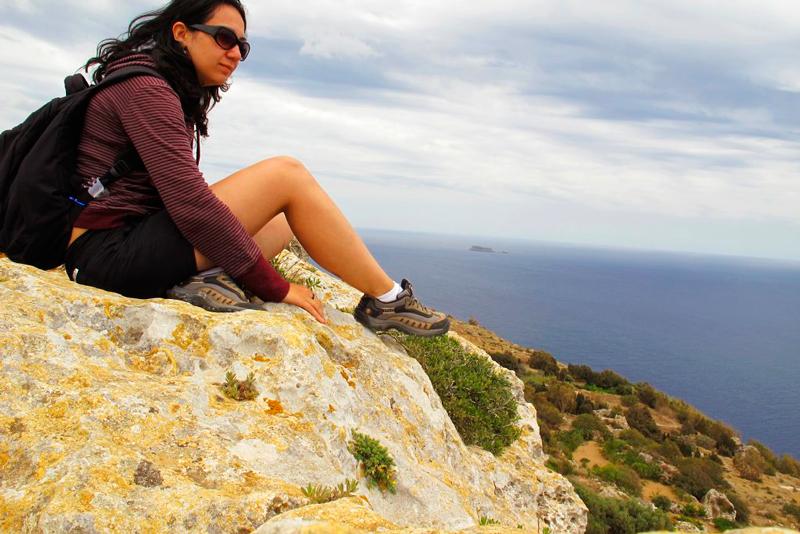 Dingli Cliffs em Malta