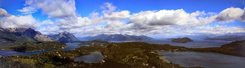 Vista a partir do Cerro Campanario