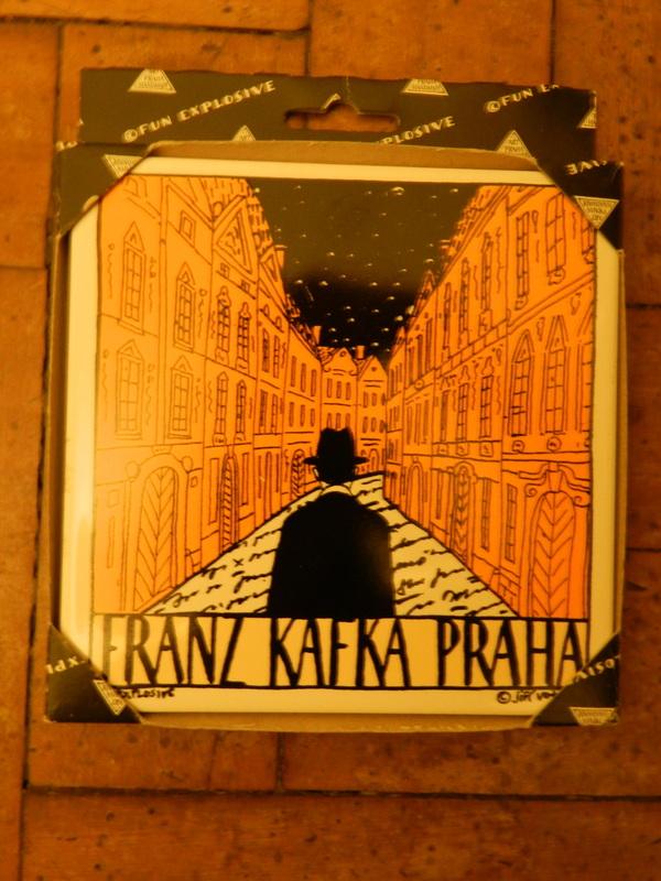 azulejo kafka em COMPILADO DE DICAS PARA VIAJAR À EUROPA CENTRAL