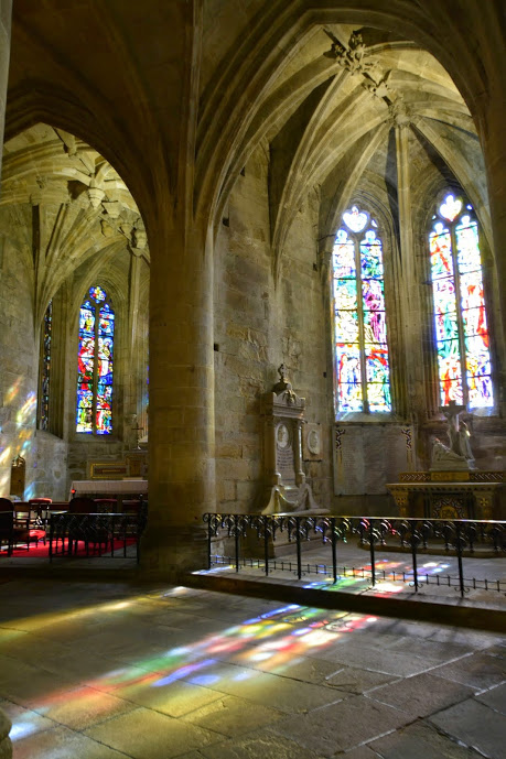 Dentro da Eglise Saint-Malo