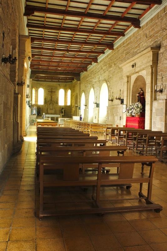Interior da Igreja Santo Domingo, La Serena