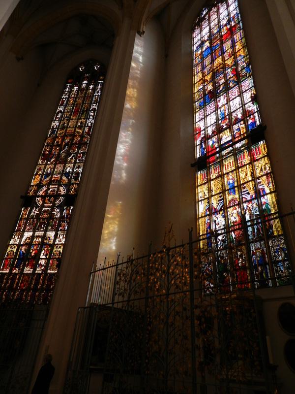 Vitrais da igreja Dicas de Viagem à MUNIQUE