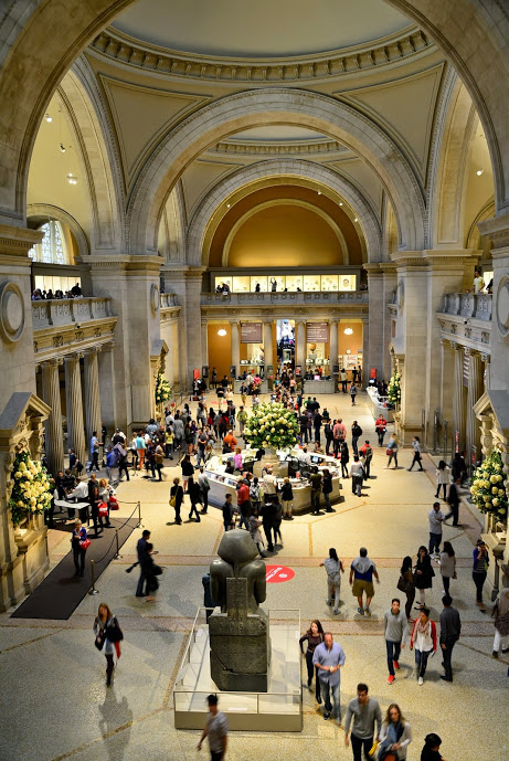 Hall de entrada do MET - Metropolitan Museum de New York