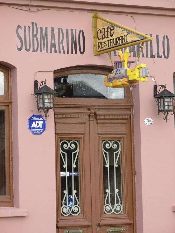 Café Restaurante Submarino Amarillo