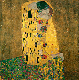 The Kiss (image from Wikipedia)