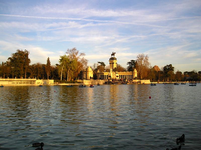 Parque del Retiro, em Madri