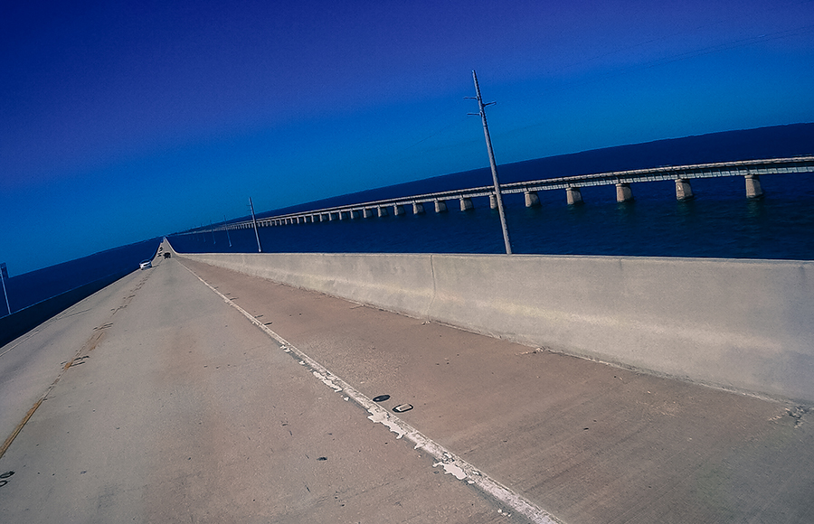 Seven Mile Bridge, Key West, USA, Florida, USA, bridge, ponte