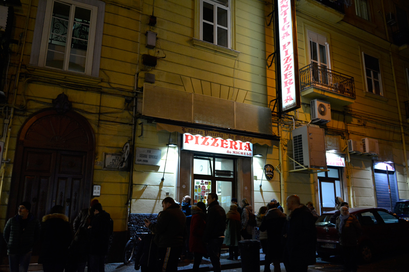 L'Antica Pizzaria da Michele, Pizza, Pizzeria, Napoli, Napoles, Naples, Italia, Italy