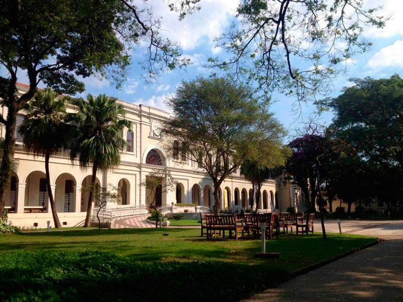 Fachada do Museu da Imigração em São Paulo